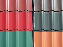 New roof tiles Stock Image