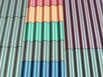 New roof tiles Stock Photography