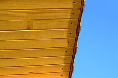 New roof wood lagging Royalty Free Stock Photography