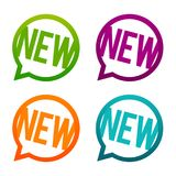 New round Buttons. Circle Eps10 Vector. Stock Images