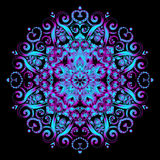 New Round Mandala-15 Royalty Free Stock Photo