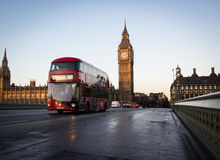 New Routemaster bus Stock Image