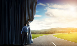 New routes and opportunities Royalty Free Stock Photography