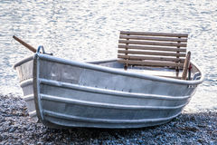 New row boat Royalty Free Stock Photos