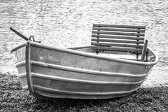 New row boat Stock Images