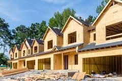 New Row House Construction Royalty Free Stock Photos
