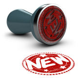 New Rubber Stamp Royalty Free Stock Image