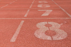 New running track Stock Photography