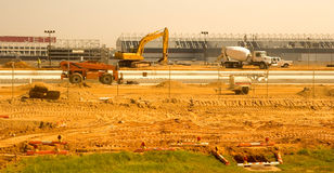 New Runway Construction Stock Photography