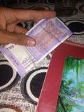 New 100 rupees stock photo