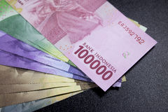 new rupiah money indonesia currency cash finance Stock Photos