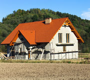 New Rural House Royalty Free Stock Image