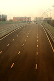 New Russian road Stock Photos