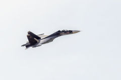 New Russian strike fighter Sukhoi Su-34 Stock Images