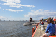 New Russian submarine Stary Oskol Stock Image