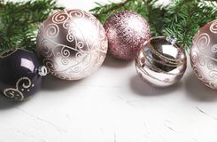 new s toys year Χριστούγεννα και νέο υπόβαθρο διακοπών έτους στοκ εικόνες