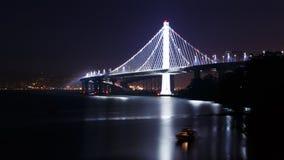 New San Francisco-Oakland Bay Bridge Royalty Free Stock Photo