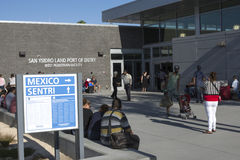 New San Ysidro PedWest port of entry Stock Photography