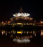 The new Sarawak State Legislative Assembly Buildin Stock Image