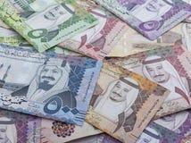 Free New Saudi Riyal Banknotes Showing King Salman Stock Photography - 108619922