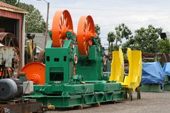 New Saw Mill Equipment Stock Photography