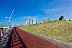 New Scheveningen Beach Seashore Royalty Free Stock Images