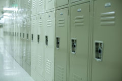 New School Lockers Stock Images