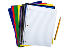 New school supplies Royalty Free Stock Images