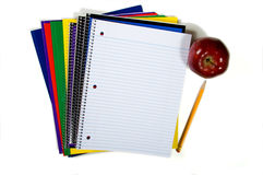 New school supplies Stock Images