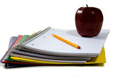 New school supplies Stock Photography
