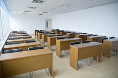 New schoolroom. For cub students in china Royalty Free Stock Photos