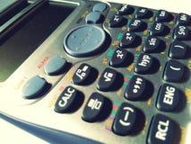 Scientific calculator stock photography