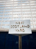New Scotland Yard Stock Images