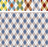 New scottish patterns Royalty Free Stock Photography