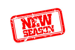New season rubber stamp Royalty Free Stock Photos