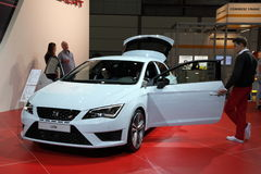 New Seat Leon at the AMI. Leipzig, Germany Stock Photography