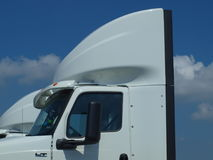 New Semi Tractor for Delivery Stock Images