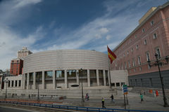 The new senate building in madrid Royalty Free Stock Photography