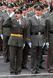 New Serbian officers-2 Royalty Free Stock Photo