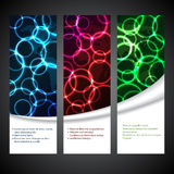 New set of advertising plasma labels Royalty Free Stock Photography