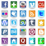 New set most popular icons. Stock Images