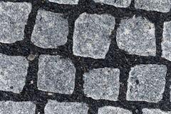 New sett pavement Royalty Free Stock Image