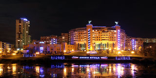 The new settlement in moscower district Royalty Free Stock Images