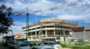 New Seven Stars Mall construction Royalty Free Stock Images