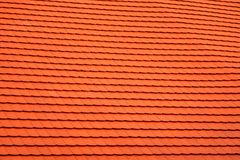 New shingles on an old house royalty free stock photo