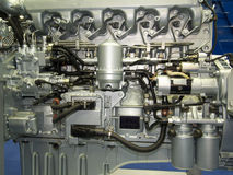New shining motor Stock Images