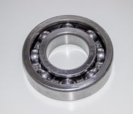 A new shiny ball bearing Stock Photo