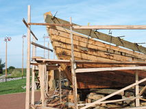 New ship construction, Lithuania Royalty Free Stock Photos