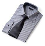 New shirt. & tie Stock Photos