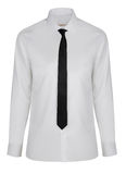 New shirt with necktie isolated Stock Photos